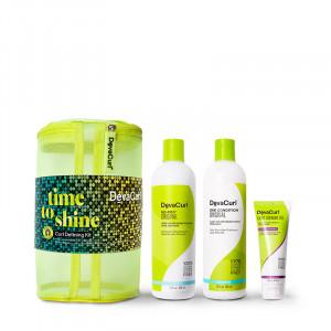 DevaCurl Holiday kit définition cheveux bouclés Curl Defining, Coffret