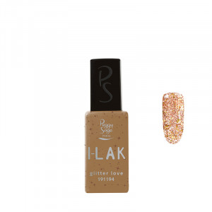 Peggy Sage Vernis semi-permanent I-LAK Glitter love 11ml 11ML, Vernis semi-permanent couleur
