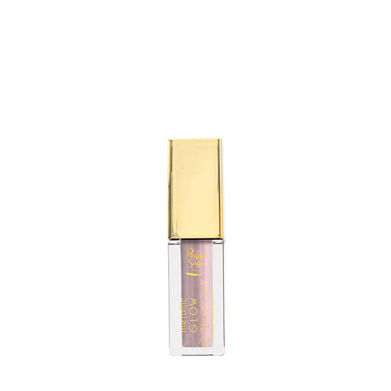 Peggy Sage Ombre à paupières liquide Metallic Glow - Rose clair 5.1ml 5ML, Fard à paupières