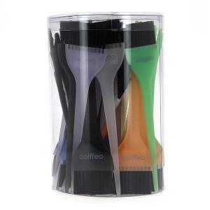 Pinceaux multicolores x48