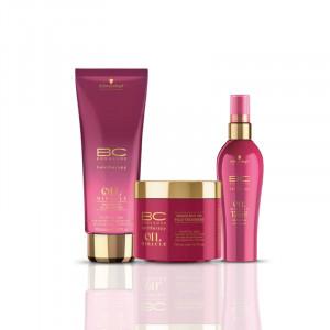 Schwarzkopf Professional Soins brillances tous types de cheveux - routine Brazilnut Oil Miracle 450ML, Cosmétique