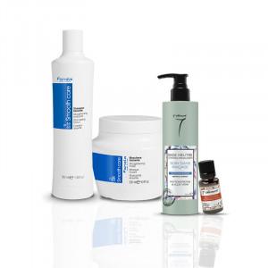 Fanola Routine de soins « stop aux cheveux rebelles » 1065ML, Cosmétique