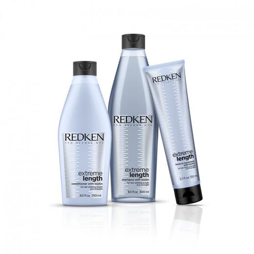 Redken Soins fortifiants cheveux longs - routine Extreme Lenght  700ML, Cosmétique