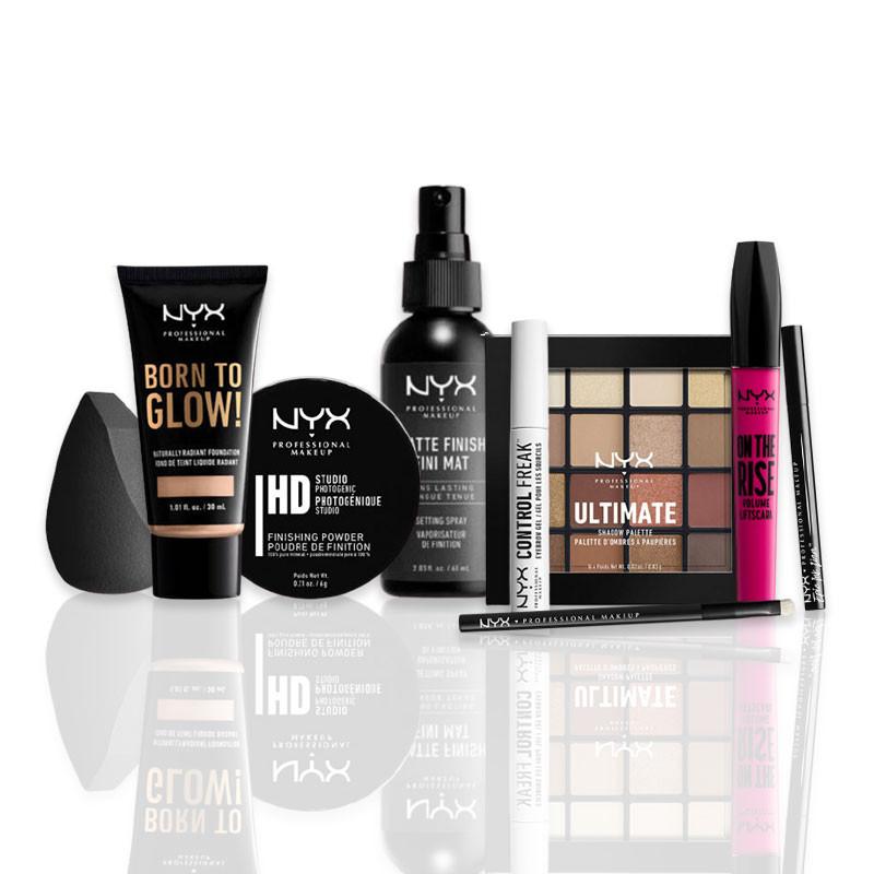 NYX Professional Makeup Kit maquillage - maquiller son regard et son teint , Yeux