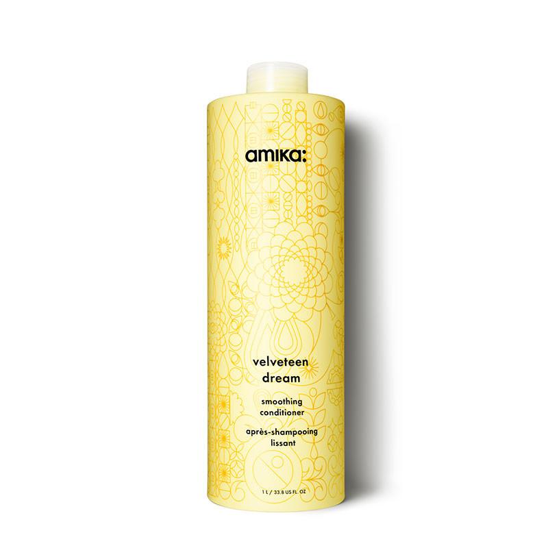 Amika Après-shampooing lissant Velveteen Dream 1000ML, Après-shampoing avec rinçage
