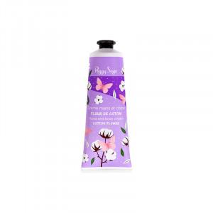 Peggy Sage Crème mains & corps Fleur de coton 125ML, Soin hydratant