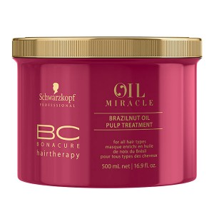 Schwarzkopf Masque Brazilnut Oil Miracle 500ML, Masque cheveux