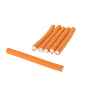 Coiffeo Flexi rollers 16mmx18cm x6 Orange, Flexi rollers