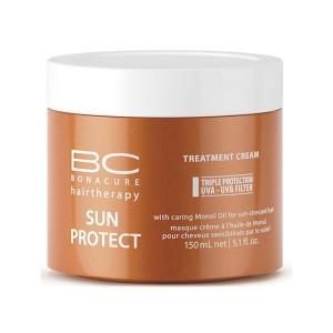 Schwarzkopf Masque crème à l'huile de Monoï Sun Protect 150ML, Masque cheveux