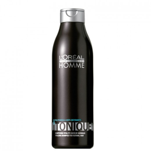 L'Oréal Professionnel Shampooing tonique Homme 250ML, Shampoing
