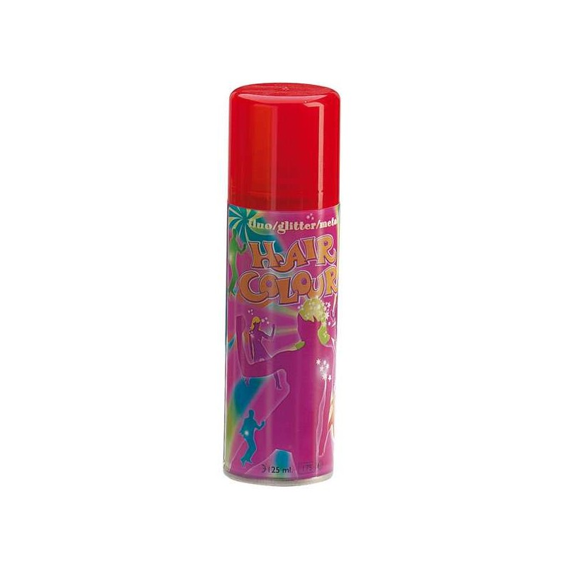 Sibel Bombe Hair Color Fluo rouge 125ML, Coloration temporaire