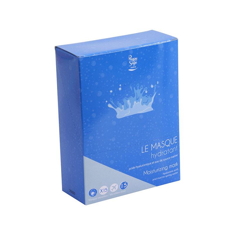 Peggy Sage Présentoir masques hydratant x15, Présentoir produits