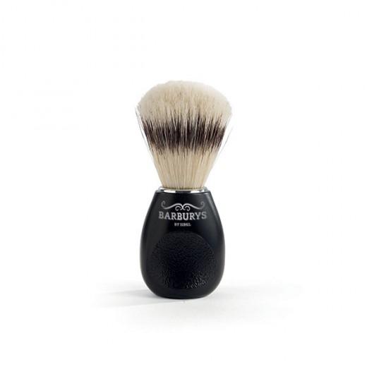Barburys Blaireau en soie Noir, Accessoires barbe