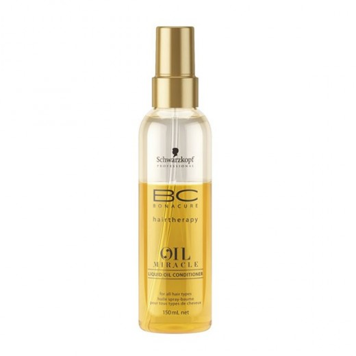 Schwarzkopf Biphase oil miracle bonacure 150ML, Spray cheveux