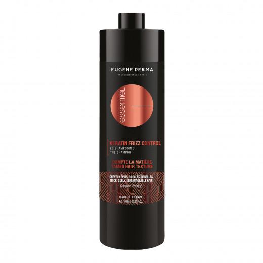 Eugène Perma Shampooing soin 2 en 1 Keratin Frizz Control 1000ML, Cosmétique