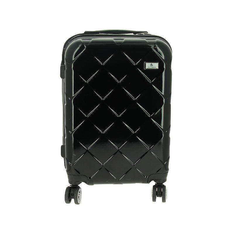 Set bagagerie valise trolley & vanity noir