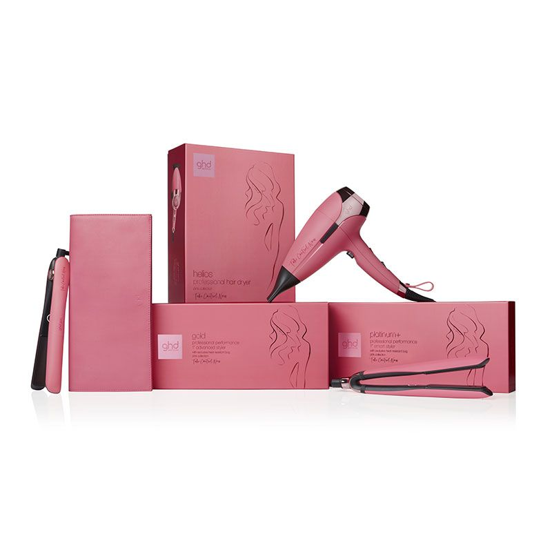 Sèche-cheveux ghd helio collection Pink Take Control Now