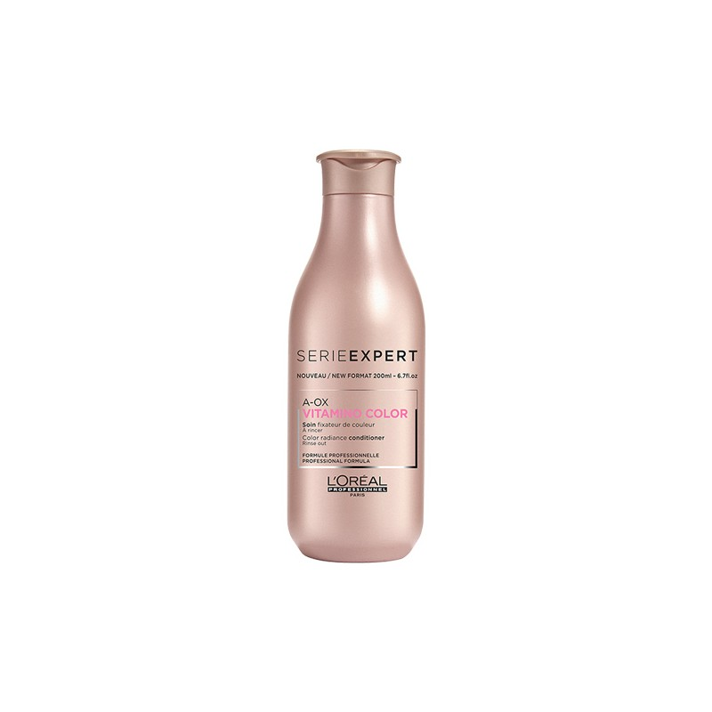 L'Oréal Professionnel Soin fixateur de couleur Vitamino Color A-OX 200ML, Après-shampoing avec rinçage