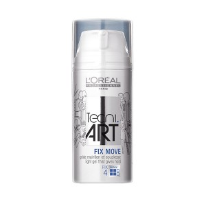 L'Oréal Professionnel Gel Fix move Tecni.art 100ML, Gel