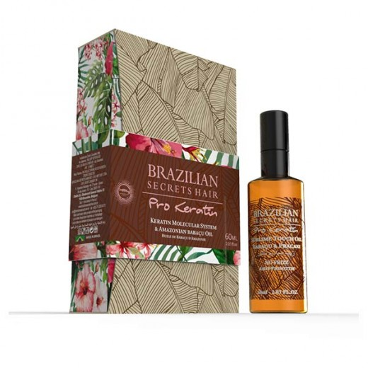 Huile Argan & Pracaxi Brazilian Secrets Hair Pro Keratin 60 ml