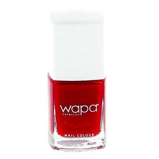 Wapa Vernis à ongles séchage rapide Rouge coquelicot 018 12ML, Vernis à ongles couleur