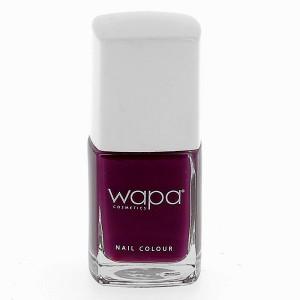 Wapa Vernis à ongles séchage rapide Magenta foncé 021 12ML, Vernis à ongles couleur