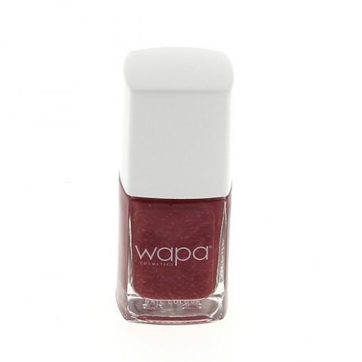 Wapa Vernis à ongles séchage rapide Rouge brun 026 12ML, Vernis à ongles couleur