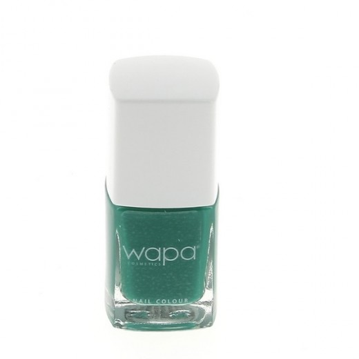 Wapa Vernis à ongles séchage rapide Bleu canard 053 12ML, Vernis à ongles couleur