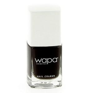 Wapa Vernis à ongles séchage rapide Noir 505 12ML, Vernis à ongles couleur