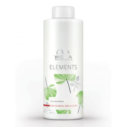 Wella Shampooing régénérant Elements 1000ML, Shampoing naturel