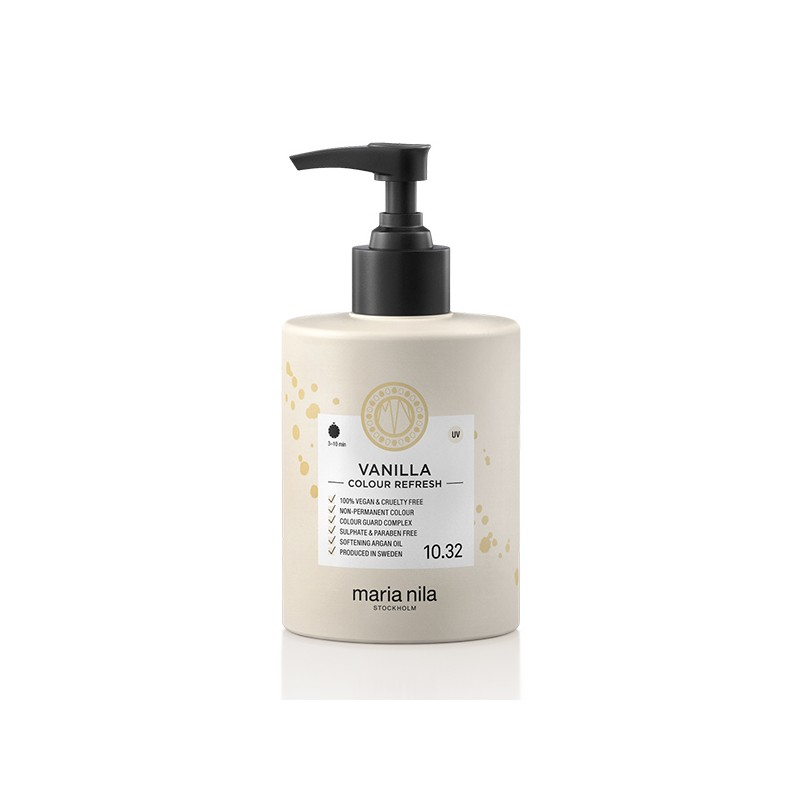 Maria Nila Masque repigmentant Colour Refresh 10.32 Vanilla 300ML, Après-shampoing repigmentant