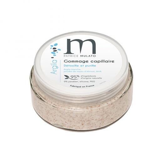 Mulato Gommage capillaire argile blanche Argila 125ML, Gommage cuir chevelu