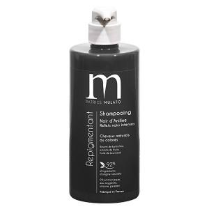 Mulato Shampoing Repigmentant Noir d'aniline 500ML, Shampoing naturel