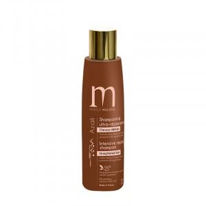 Mulato Shampooing ultra réparateur Azali cheveux défrisés 200ML, Shampoing naturel