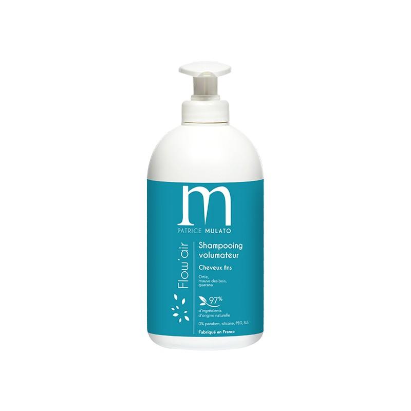 Mulato Shampooing volumateur Flow'air 500ML, Shampoing naturel