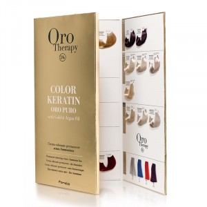 Oro Therapy Grand nuancier Color Keratin Oro Puro, Nuancier