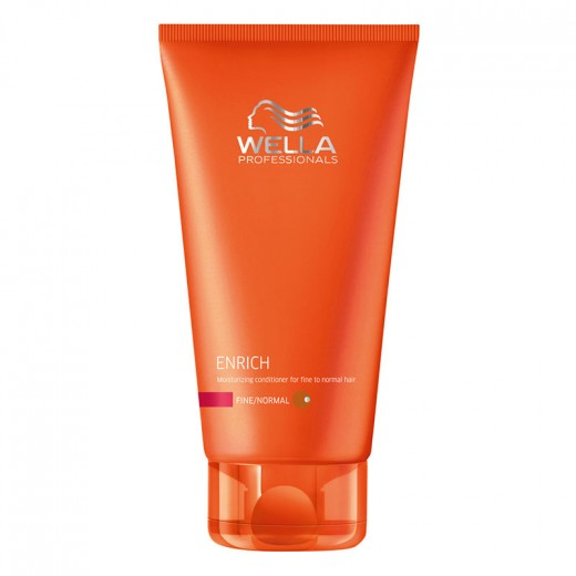 Wella Après-shampooing hydratant cheveux fins Enrich 200ML, Après-shampoing avec rinçage