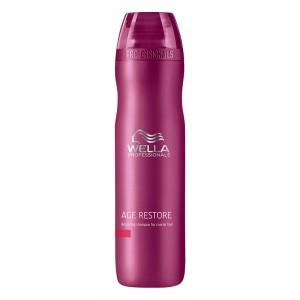 Wella Shampooing restructurant cheveux épais Age restore 250ML, Cosmétique
