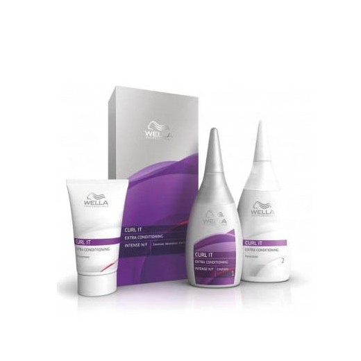 Kit permanente cheveux naturels curl it wella