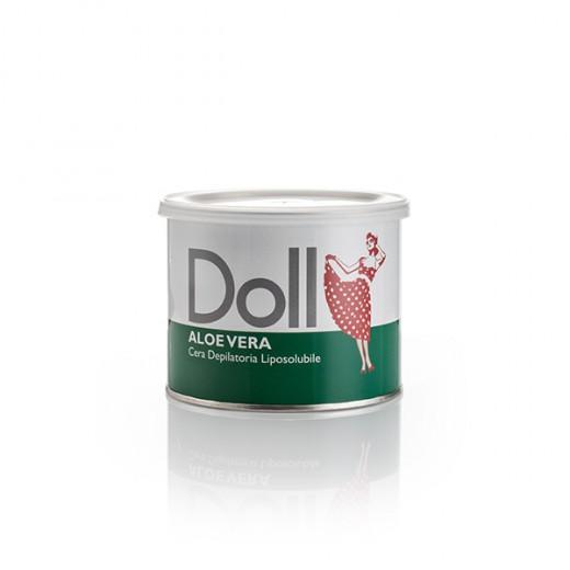 Doll Cire d'épilation Aloe vera 400ML, Pot de cire