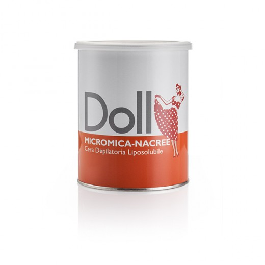 Doll Cartouche cire d'épilation micromica Nacrée 800ML, Pot de cire