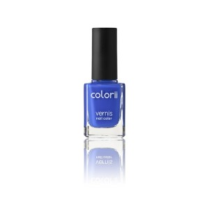 Colorii Vernis à ongles Electric blue 11ML, Vernis à ongles couleur