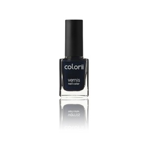 Colorii Vernis à ongles Midnight blue 11ML, Vernis à ongles couleur
