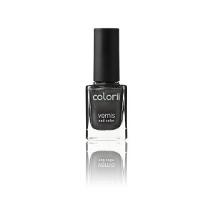 Colorii Vernis à ongles minéral Black party 11ML, Vernis à ongles couleur