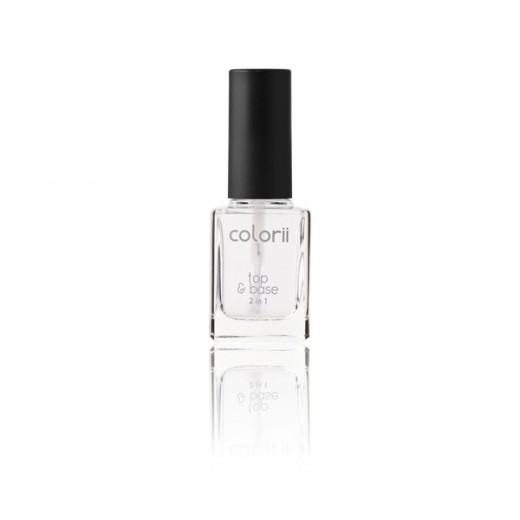 vernis soin top 2 en 1 top&base colorii 11ml