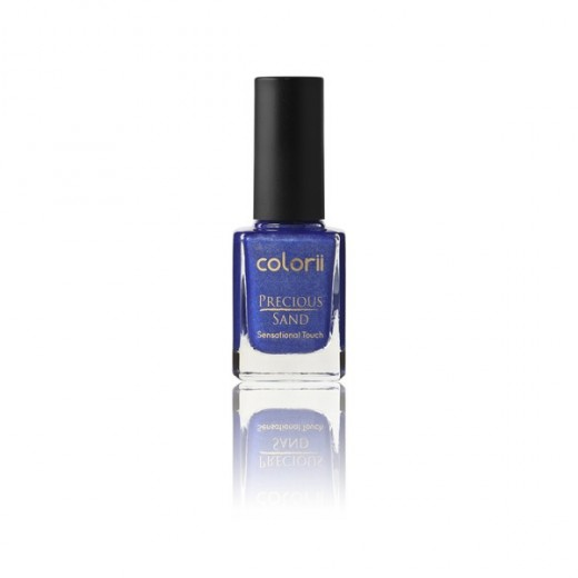 Vernis à ongles Sand  bleu paillette Colorii 11 ml