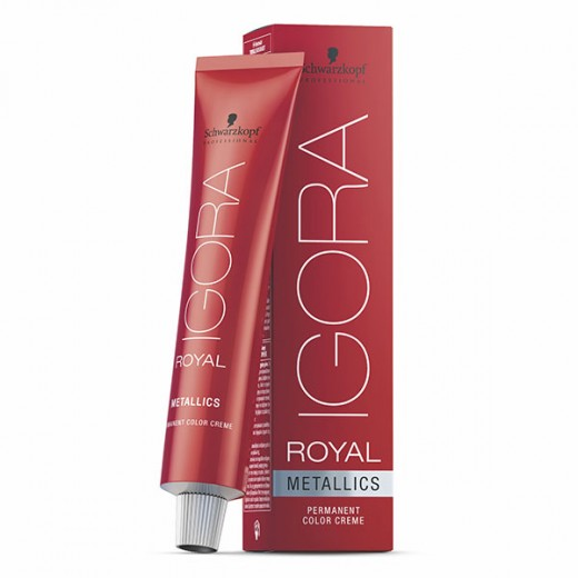 Coloration oxydation Metallics Igora royal 60ml