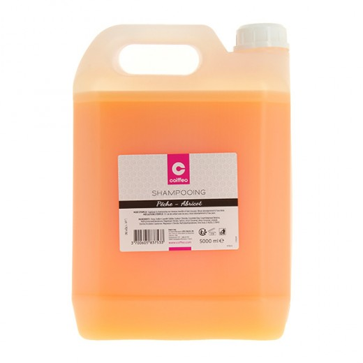 Coiffeo Shampooing Pêche-abricot 5000ML, Cosmétique
